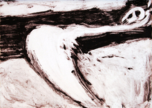 Víctor MIRA - Painting - Crucifixion