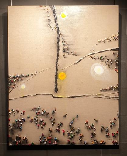 Juan GENOVES - Painting - ILUMINADO