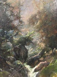 Honore THEVENOT - Painting - Bords du Chagnon