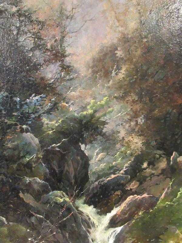 Honore THEVENOT - Pittura - Bords du Chagnon