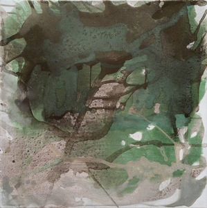 Bertille DE BAUDINIERE - Peinture - Green Earth 203