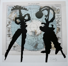 William KENTRIDGE (1955) - Atlas Confession