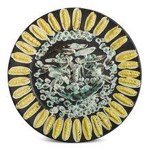 Pablo PICASSO - Ceramic - Visage tourmenté