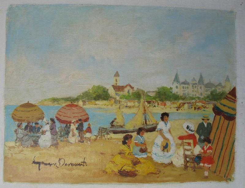 Suzanne DEMAREST - Painting - A La Plage