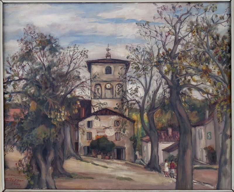 Samson FLEXOR - Painting - Saint Maurin ,Lot et Garonne