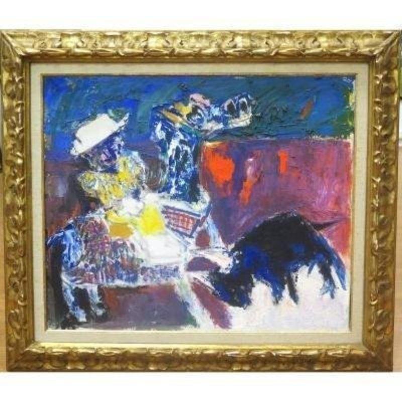 Bernard LORJOU - Gemälde - Tauromachie