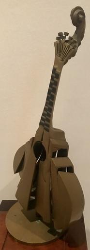 Fernandez ARMAN - Sculpture-Volume - La Mandoline