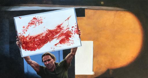 Vladimir KOLESNIKOV - Painting - Andy