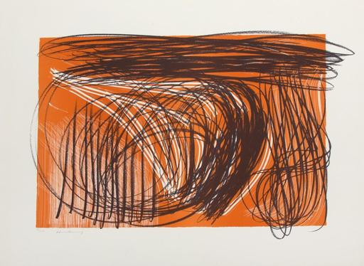 Hans HARTUNG - Estampe-Multiple - L 1971-1
