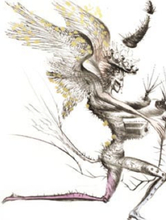Salvador DALI (1904-1989) - Le demon aile (The Winged Demon)