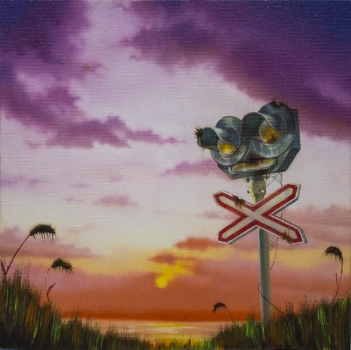 Carlo Alberto RASTELLI - Painting - L'amore ai tempi di Ground Zero #5