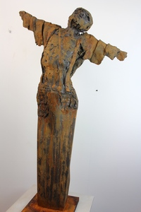 Pascal BORGHI - Sculpture-Volume - L'homme qui voulait voler