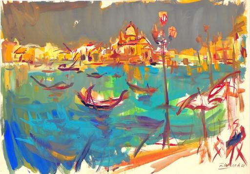 Franz WILCEK - 绘画 - Venedig