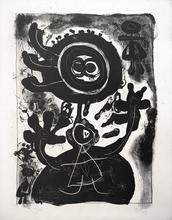 Joan MIRO (1893-1983) - Grand Personnage Noir