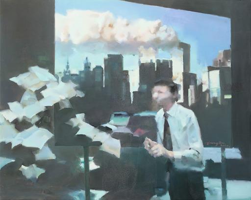 JIANG BO - Painting - City Crises Series I