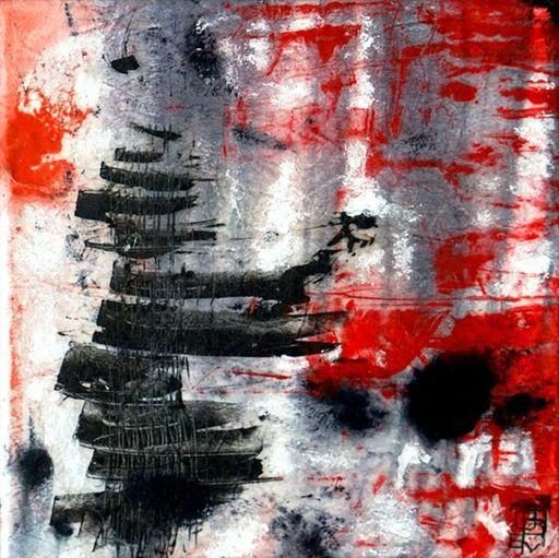 Aurélie LAFOURCADE - Peinture - Mono IX
