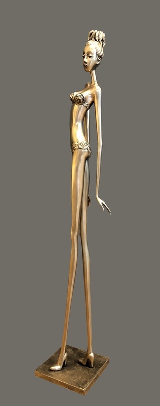 Chantal DE BLOCK - Sculpture-Volume - Eve