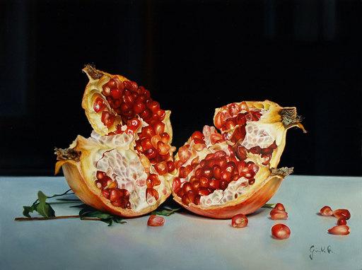 Riccardo GIRAUDO - Gemälde - Melograno