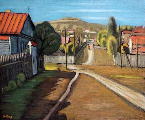 Valeriy NESTEROV - Painting - Saratov. Sara-Tau mountain