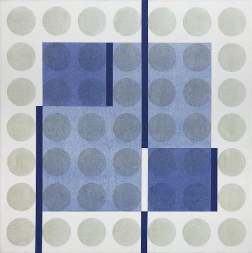 Carlo NANGERONI - Painting - Elementi in movimento