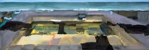 Simon ANDREW - Painting - Deserted Pool