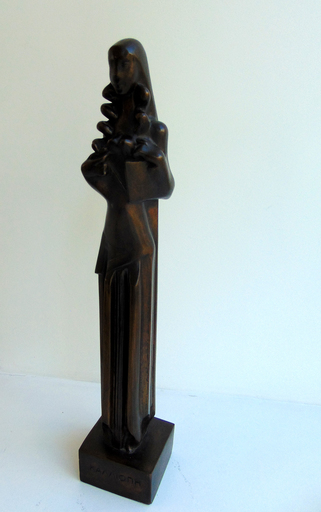 Joseph CSAKY - Sculpture-Volume -  Calliope – Muse of Epic Poetry [Καλλιόπη]