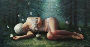 Judith VERGARA GARCÍA - Painting - Delirium