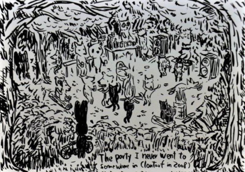 Atsushi KAGA - Estampe-Multiple - The party I never went to...