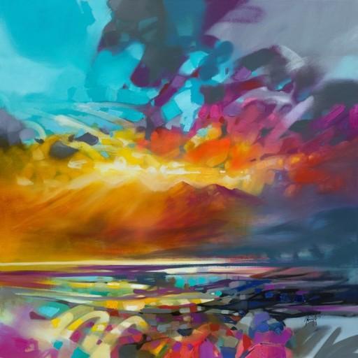Scott NAISMITH - Painting - Light Energy