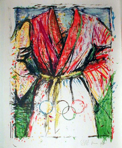 Jim DINE, OLYMPIC ROBE