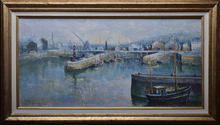 Lucien DELARUE (1925-2011) - port de commerce