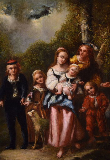 Narcisse Virgile DIAZ DE LA PEÑA - Peinture