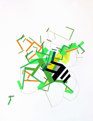Philippe HALABURDA - Painting - A Fiiane was Ilaand 7