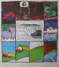 Pierre ALECHINSKY (1927) - Waterfall