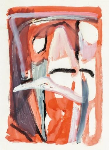 Abraham Gerardus VAN VELDE - Zeichnung Aquarell - composition abstraite
