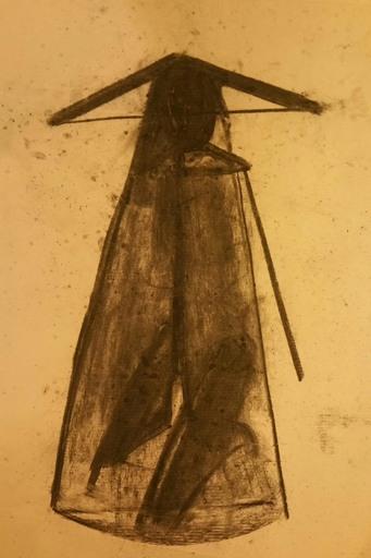 PASTURO - Drawing-Watercolor - Figure