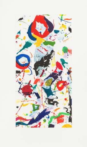 Sam FRANCIS - Estampe-Multiple - SFE 079