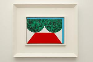Kumi SUGAI - Pintura - Rouge et Vert