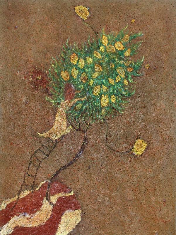 Frédéric COURAILLON - Painting - Le,Citronnier