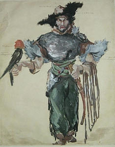 Konstantin A. KOROVIN, Prince Igor. Costume for Feodor Chaliapin as Khan Konchak