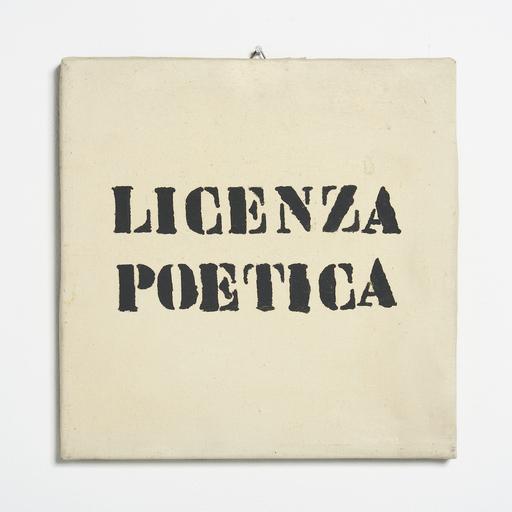 SARENCO - Pintura - Licenza poetica