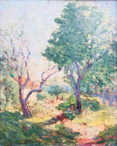 Raymond TELLIER - Peinture - Paysage
