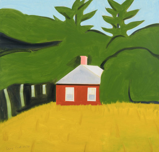 Alex KATZ - Print-Multiple - Red House