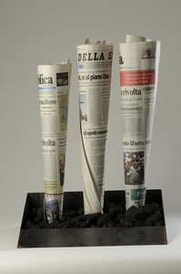 Jannis KOUNELLIS - Skulptur Volumen - Fabbrica
