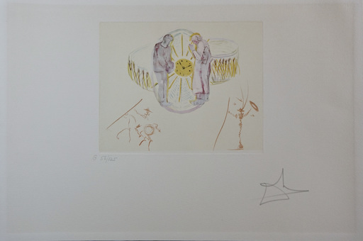 Salvador DALI - Stampa-Multiplo - The Cycles of Life One's Identity