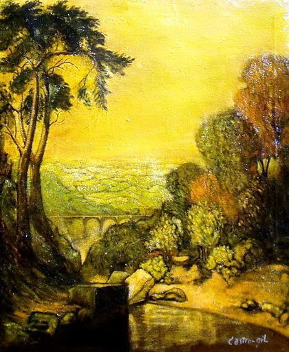 Manuel CASTRO GIL - Gemälde - PAISAJE