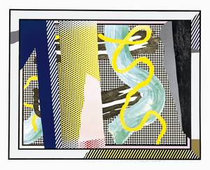 Roy LICHTENSTEIN, REFLECTIONS ON BRUSHSTROKES