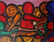 Francesco RUSPOLI - Painting - Second Mouvement    (Cat N° 5390)