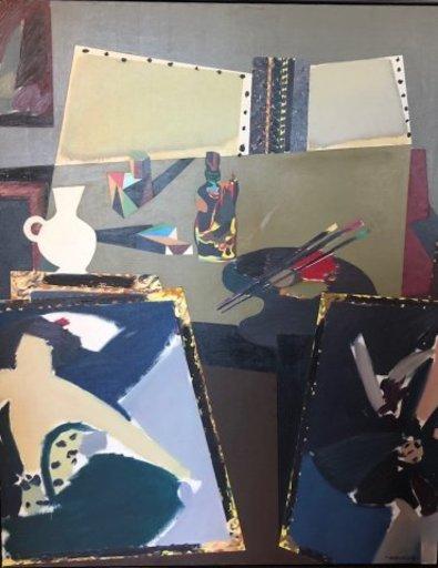 Manolo VALDÉS - Painting - La Mesa