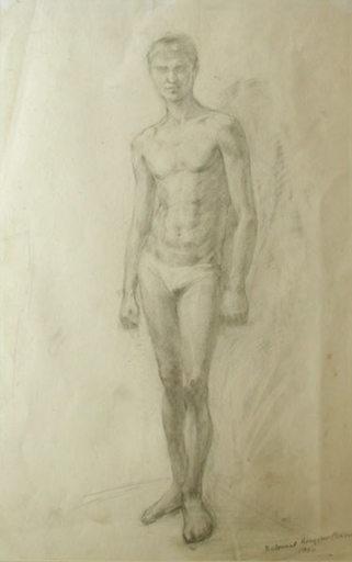 Edvard SASUN - Dibujo Acuarela - A Model